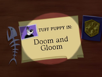 Doom and Gloom Title Card.png