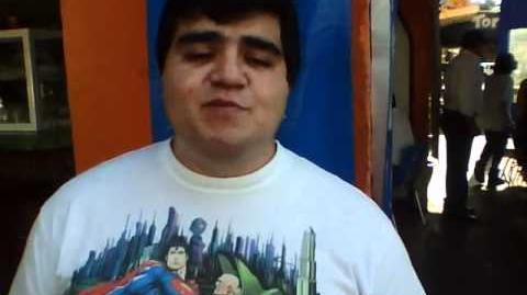 Luis Daniel Ramirez La voz de HoroHoro me manda saludos