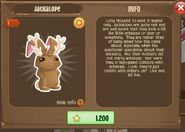 Jackalope Bunny 1 (Info)