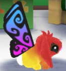 Butterflybunnyredcolor