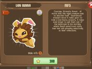 Lion Bunny 2 (Info)