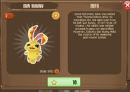 Sun Bunny 1 (Info)