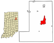 Bluffton Highlighted In Wells County Indiana