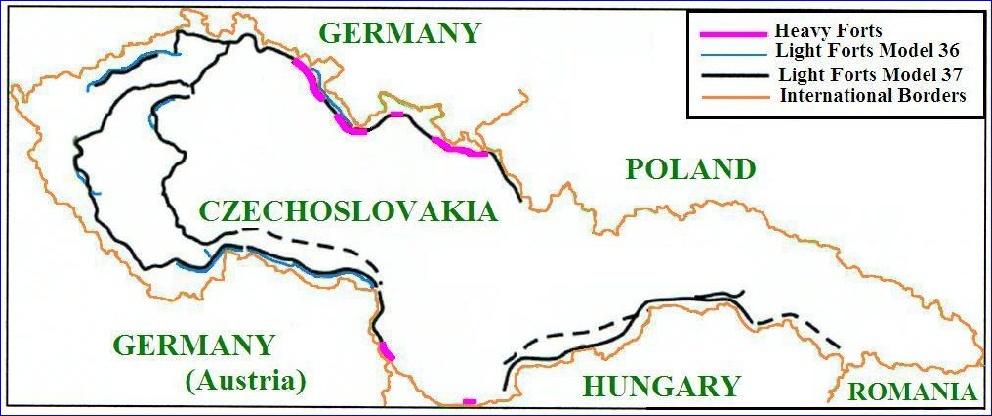 Czechoslovak Border Fortifications