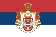 KingdomofSerbiaflag