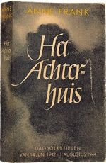 Het Achterhuis (Diary of Anne Frank) - front cover, first edition-1-.jpg