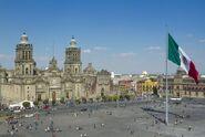 Z12175709Q,Miasto-Meksyk--Katedra-Metropolitalna---Shuttersto