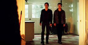 Damon and Enzo meet Markos 5x18