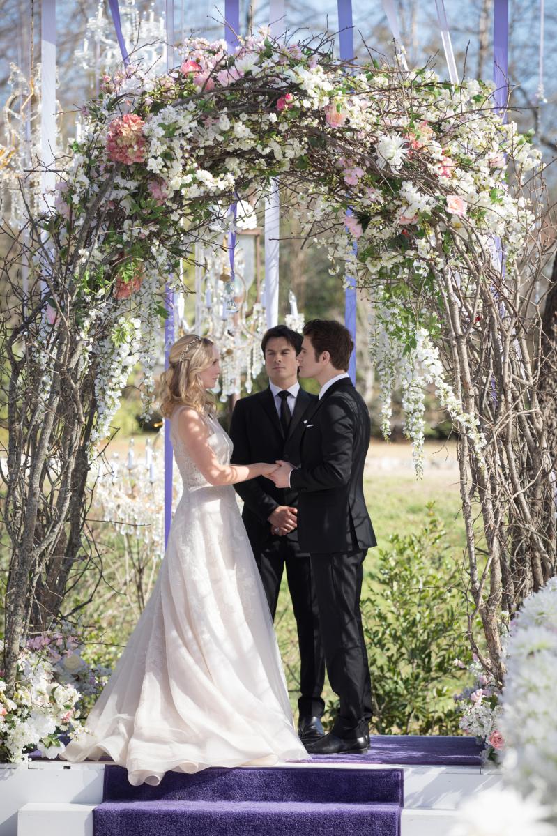 Ślub Caroline i Stefana