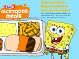 SpongeBob SquarePants Cheeseburger