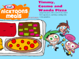 Timmy Turner, Cosmo and Wanda Pepperoni Pizza