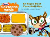 El Tigre Beef Taco Roll Ups