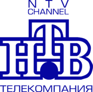 НТВ (1994-2001, использовался в бейджиках, синий)