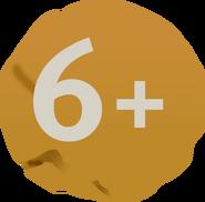 Возрастной знак 6+ (Карусель, 2012-2019)