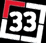 33 Губерния (красно-белый мини-логотип)