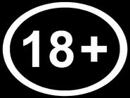 Возрастной знак 18+ (AzTV (Азербайджан), 2020, другая версия, урезанной вид)