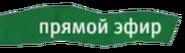 Плашка прямой эфир 2