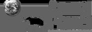 Animal Planet (1996-2006, horizontalna, czarno-biały)