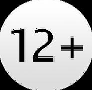 Возрастной знак 12+ (Россия-1, 2012-2017)
