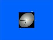 Часы ТВЦ (1999-2006, голубой фон)