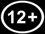 Возрастной знак 12+ (AzTV (Азербайджан), 2020, другая версия, урезанной вид)