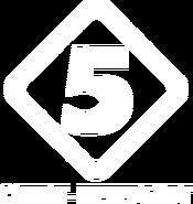 Пятый канал (1997, использовался в ТВ-Парке, белый)