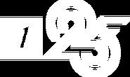 Первый канал (2020, 25 лет, белый)