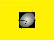 Часы ТВЦ (1999-2006, жёлтый фон)
