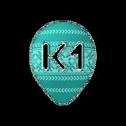 K1 (шестой логотип, пасхальный)