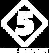 Пятый канал (1995-1997, использовался в ТВ-Парке, белый)