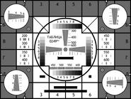 Настроечная таблица ЦТ СССР (1951-1970)
