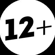 Возрастное ограничение 12+ (Пятница, с 2013)