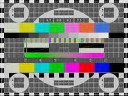 Настроечная таблица ТВ Центр (1997-2001)