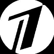 Первый канал (2000, белый круг)