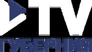 ТВ Губерния (вертикальный белый логотип)