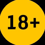 Возрастное ограничение 18+ (Каналы Медиагруппы Украина, с 2016)