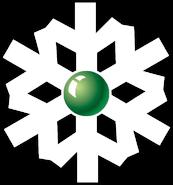 НТВ-Плюс (1997-2002, снежинка с зелёным шариком)