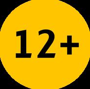 Возрастное ограничение 12+ (Каналы Медиагруппы Украина, с 2016)
