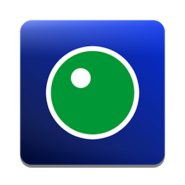 НТВ-Плюс (зелёный шарик, синий фон)