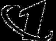 Первый канал 3 чёрный (без надписи)