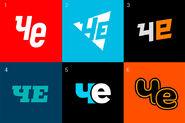 Че (2017, варианты логотипа)