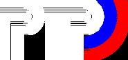 РТР (1993-1998, белый, вторая версия, без теней)