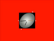 Часы ТВЦ (1999-2006, красный фон)