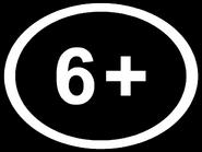 Возрастной знак 6+ (AzTV (Азербайджан), 2020, другая версия, урезанной вид)