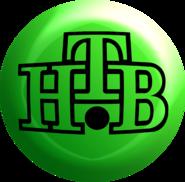 НТВ (1994, зелёный шарик с логотипом)