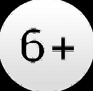 Возрастной знак 6+ (Россия-1, 2012-2017)
