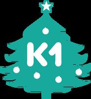К1 (новогодний логотип 2014)