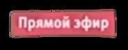 Плашка прямой эфир 3