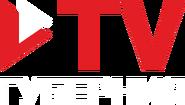 ТВ Губерния (вертикальный белый логотип) (другая версия)