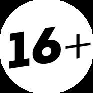 Возрастное ограничение 16+ (Пятница, с 2013)